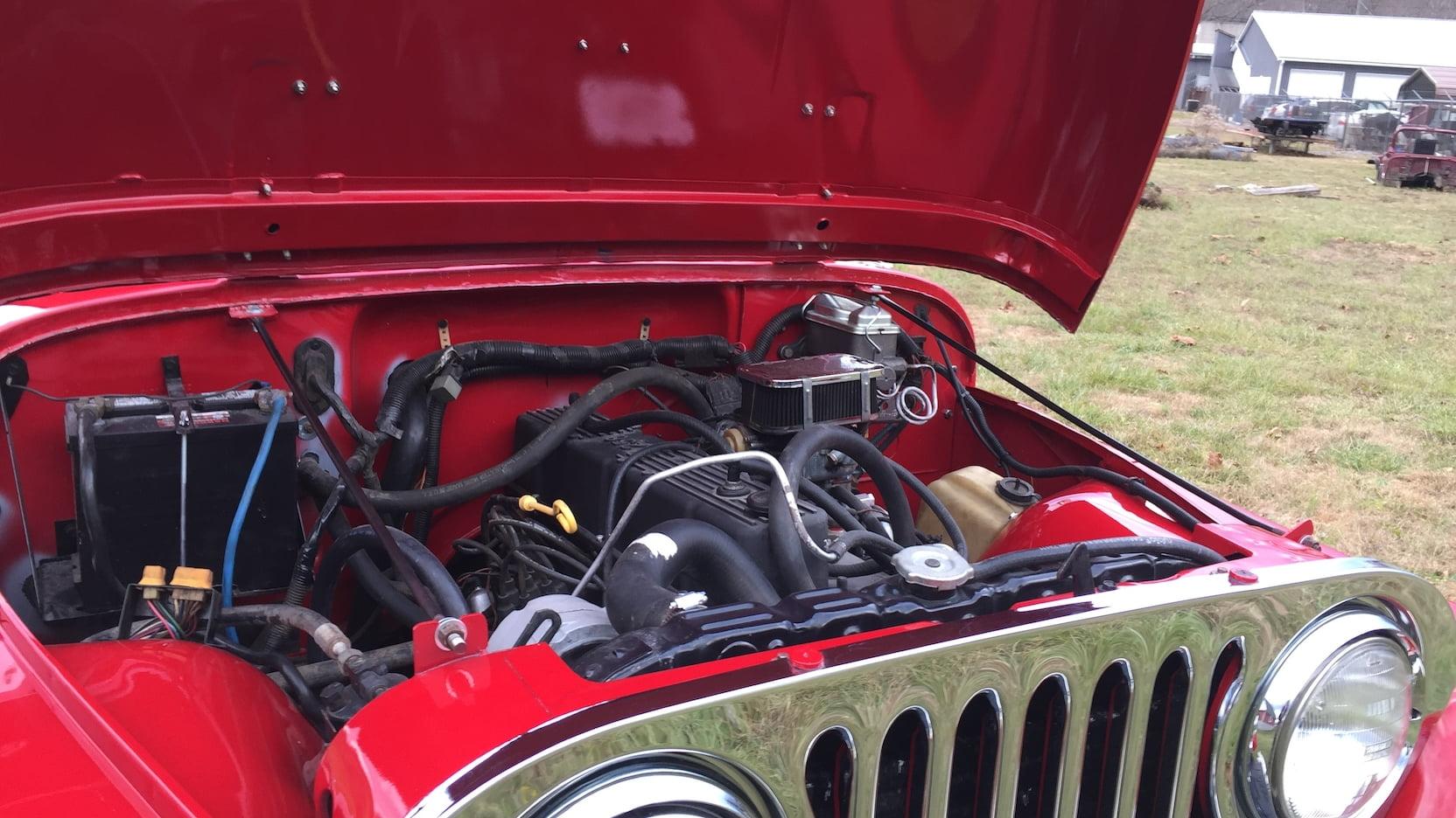 1984 Jeep Scrambler engine