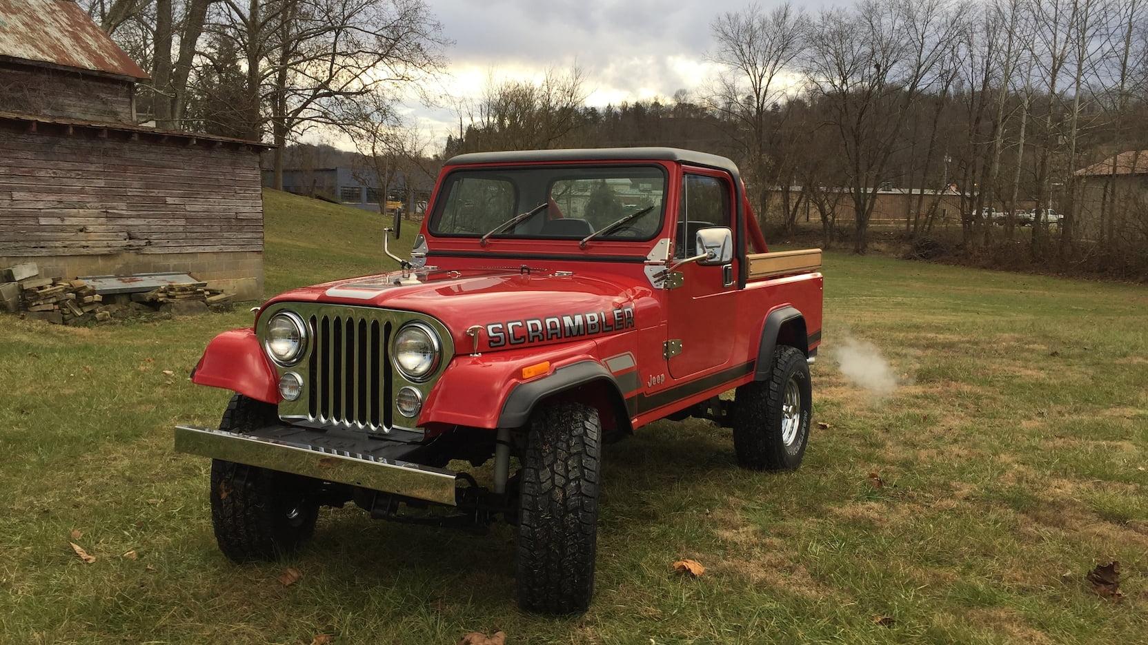 1984 Jeep Scrambler 3/4 front