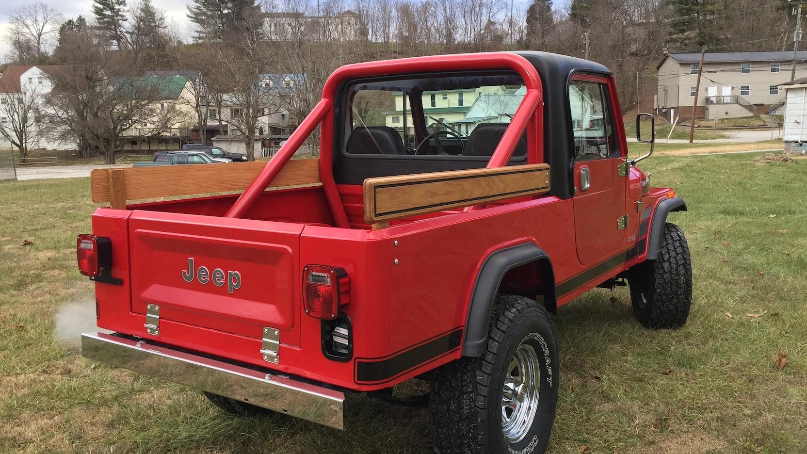 1984 Jeep Scrambler 3/4 rear