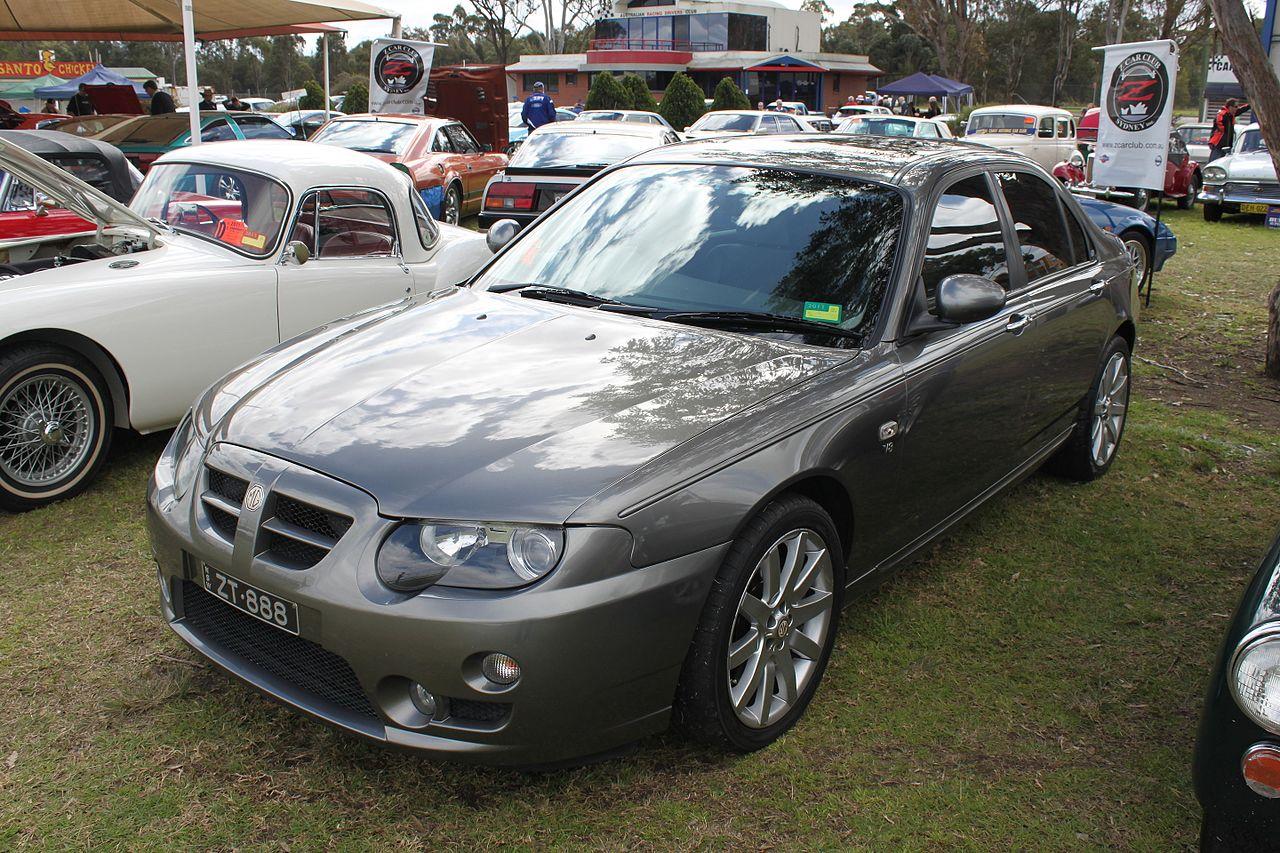 2005 MG ZT 260 Sedan