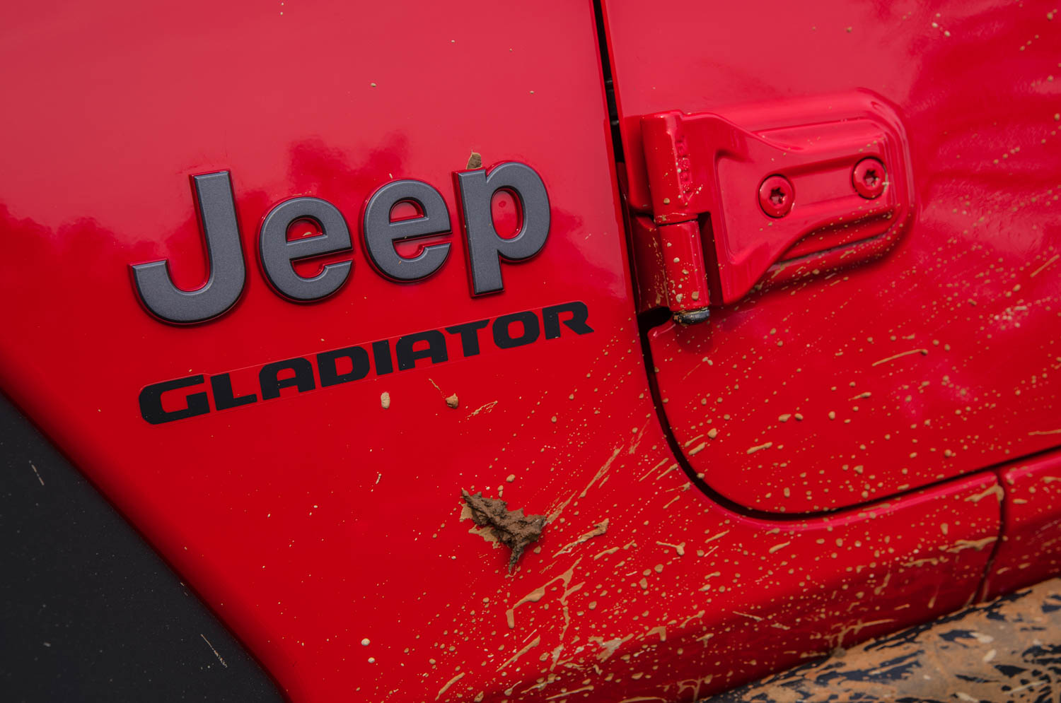 2020 Jeep Gladiator badge