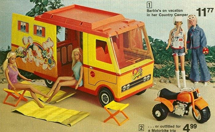 Barbie 1970 Country Camper