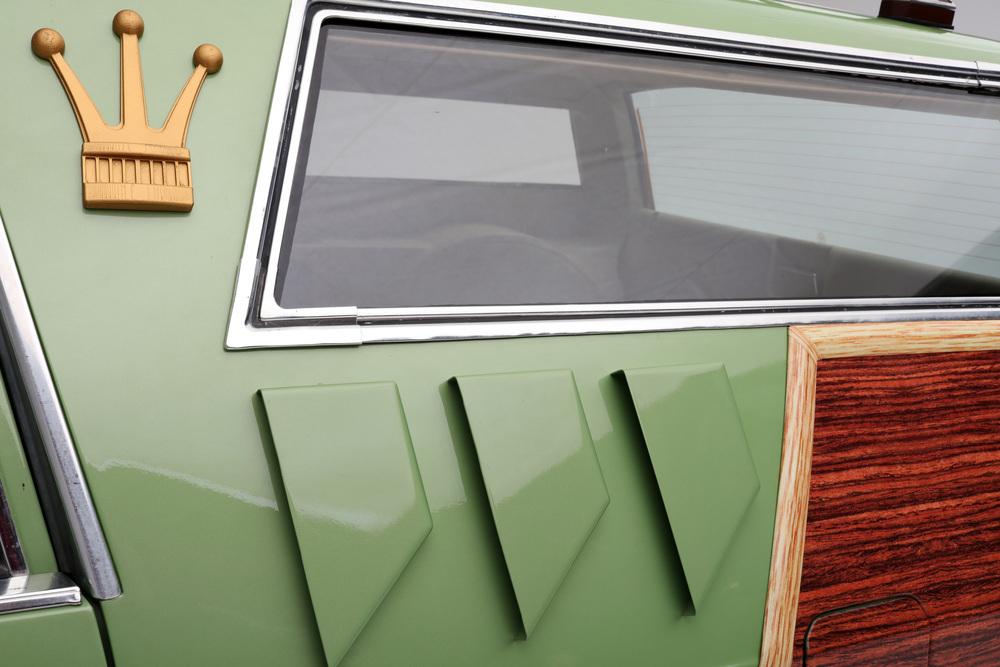 "1981 Ford LTD Station Wagon ""Family Truckster"" side detail"