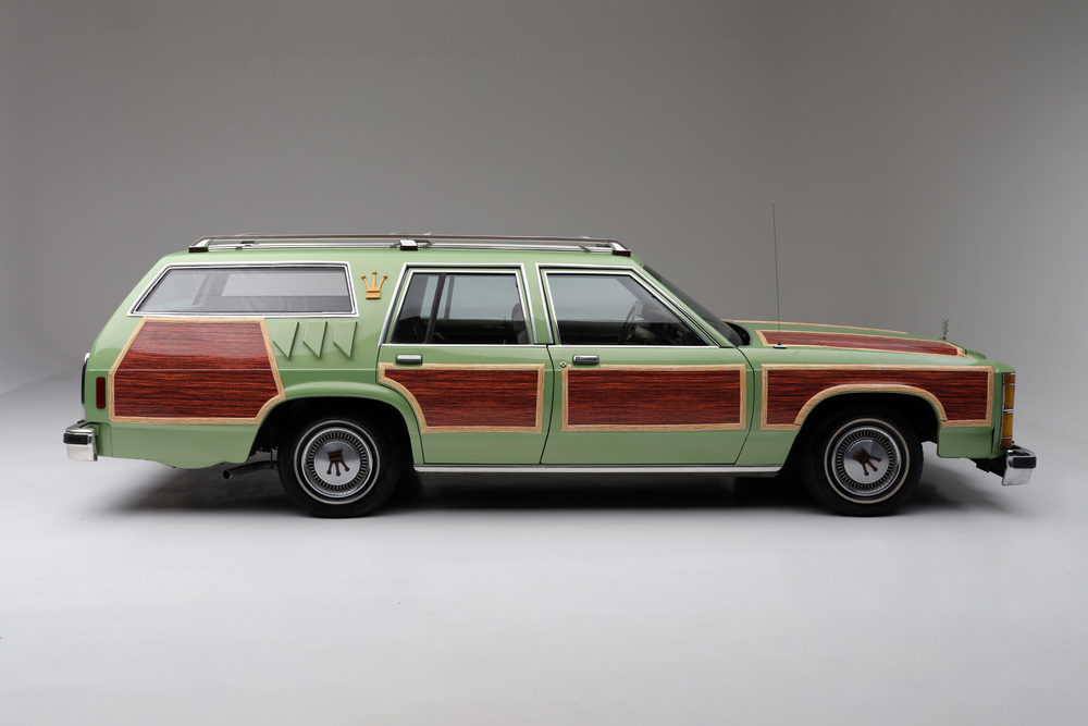 "1981 Ford LTD Station Wagon ""Family Truckster"" side passenger"