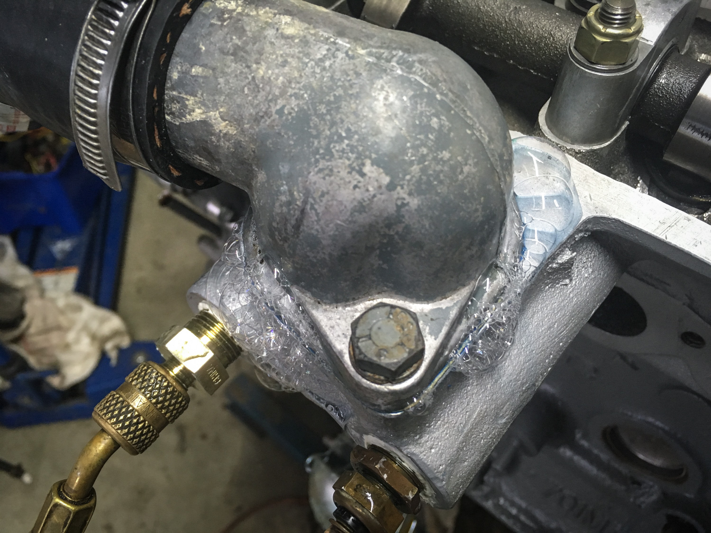 No missing this leak.