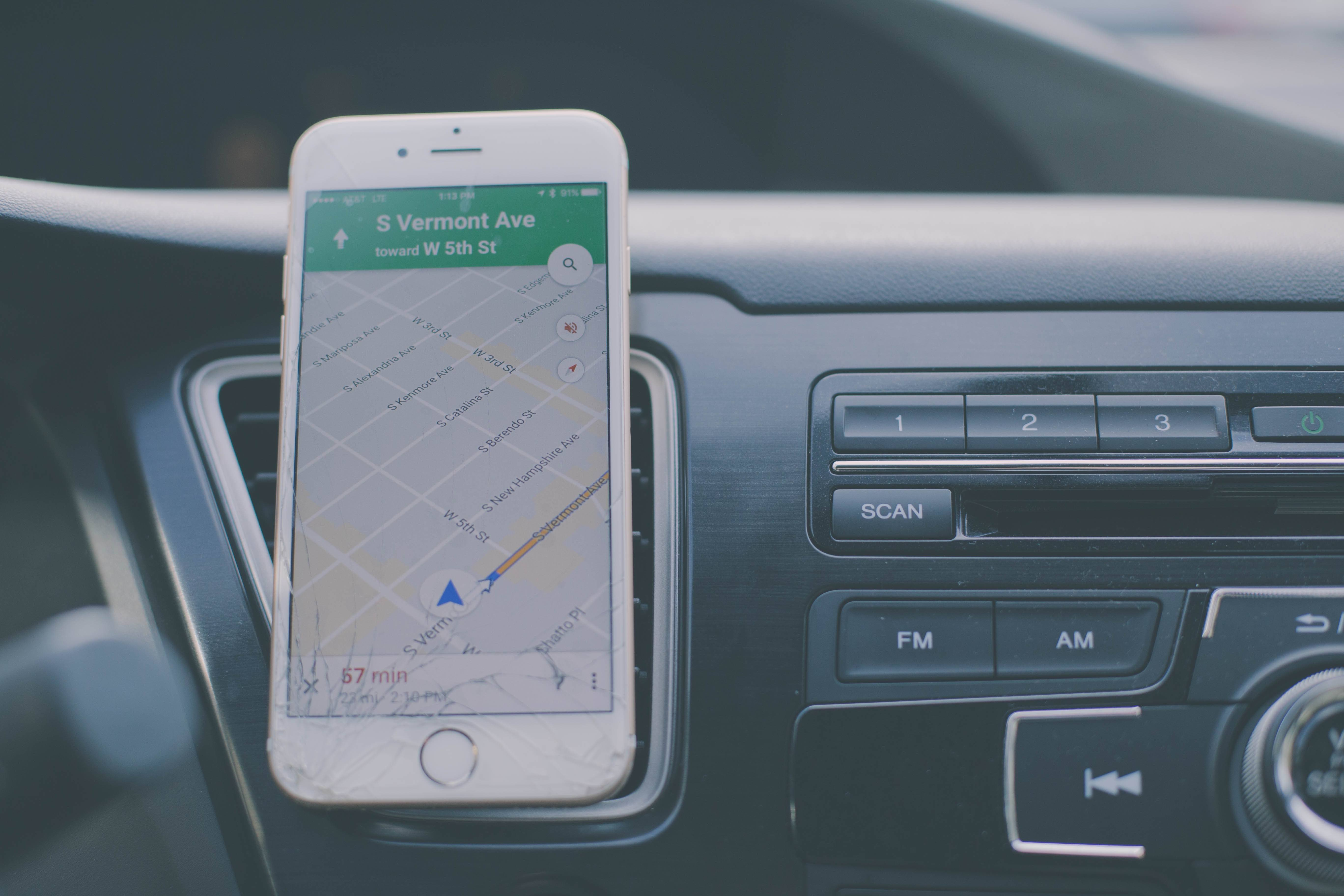 Avoidable contact ride sharing  phone directions