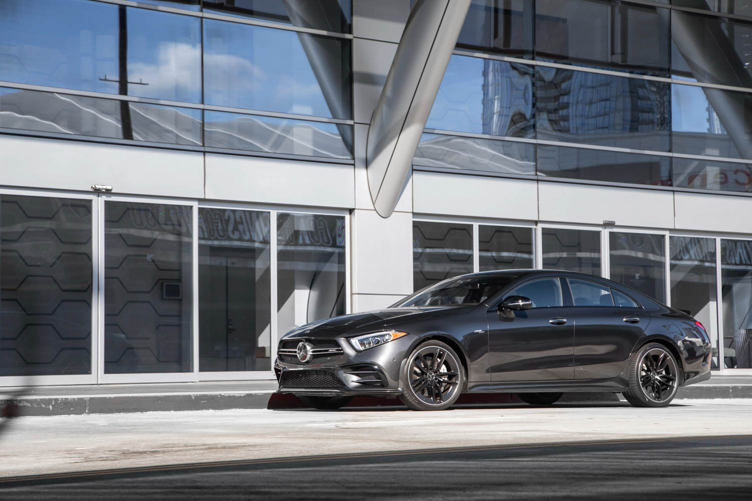 2019 Mercedes-AMG CLS53 front 3/4