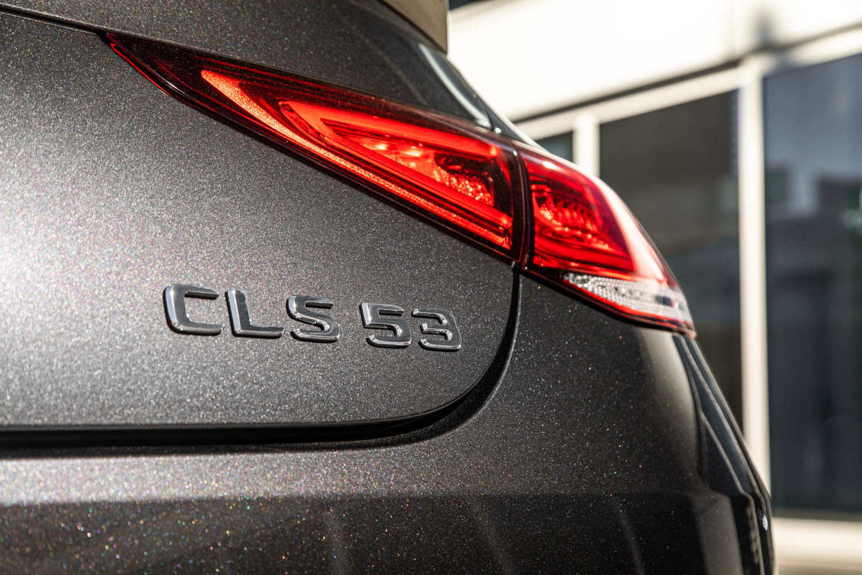 2019 Mercedes-AMG CLS53 badge