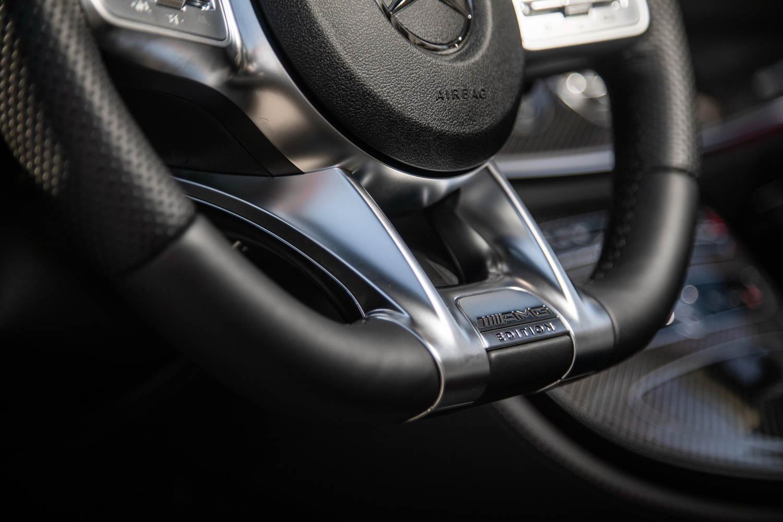 2019 Mercedes-AMG CLS53 steering wheel