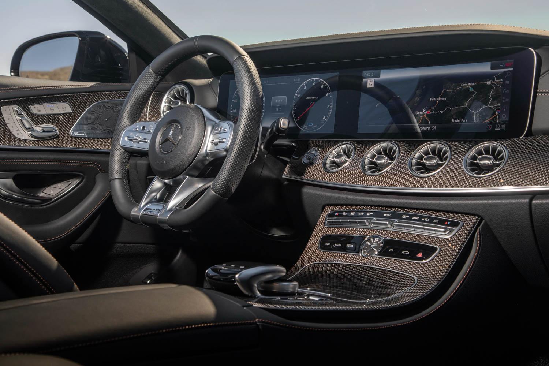 2019 Mercedes-AMG CLS53 carbon fiber dash