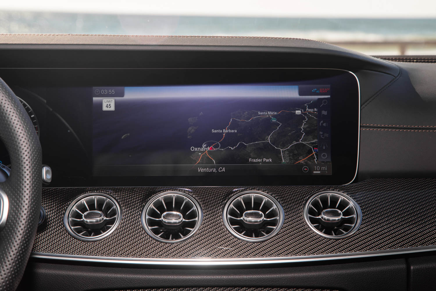 2019 Mercedes-AMG CLS53 entertainment screen