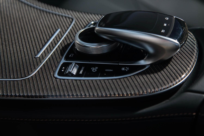2019 Mercedes-AMG CLS53 shifter