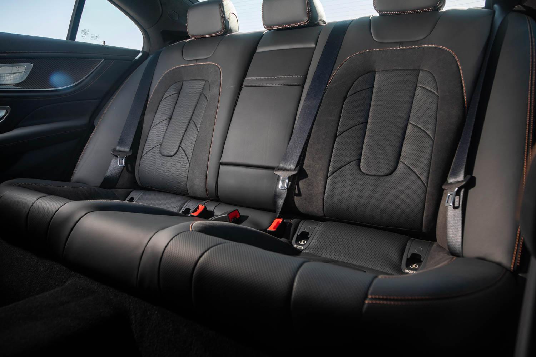 2019 Mercedes-AMG CLS53 backseat detail