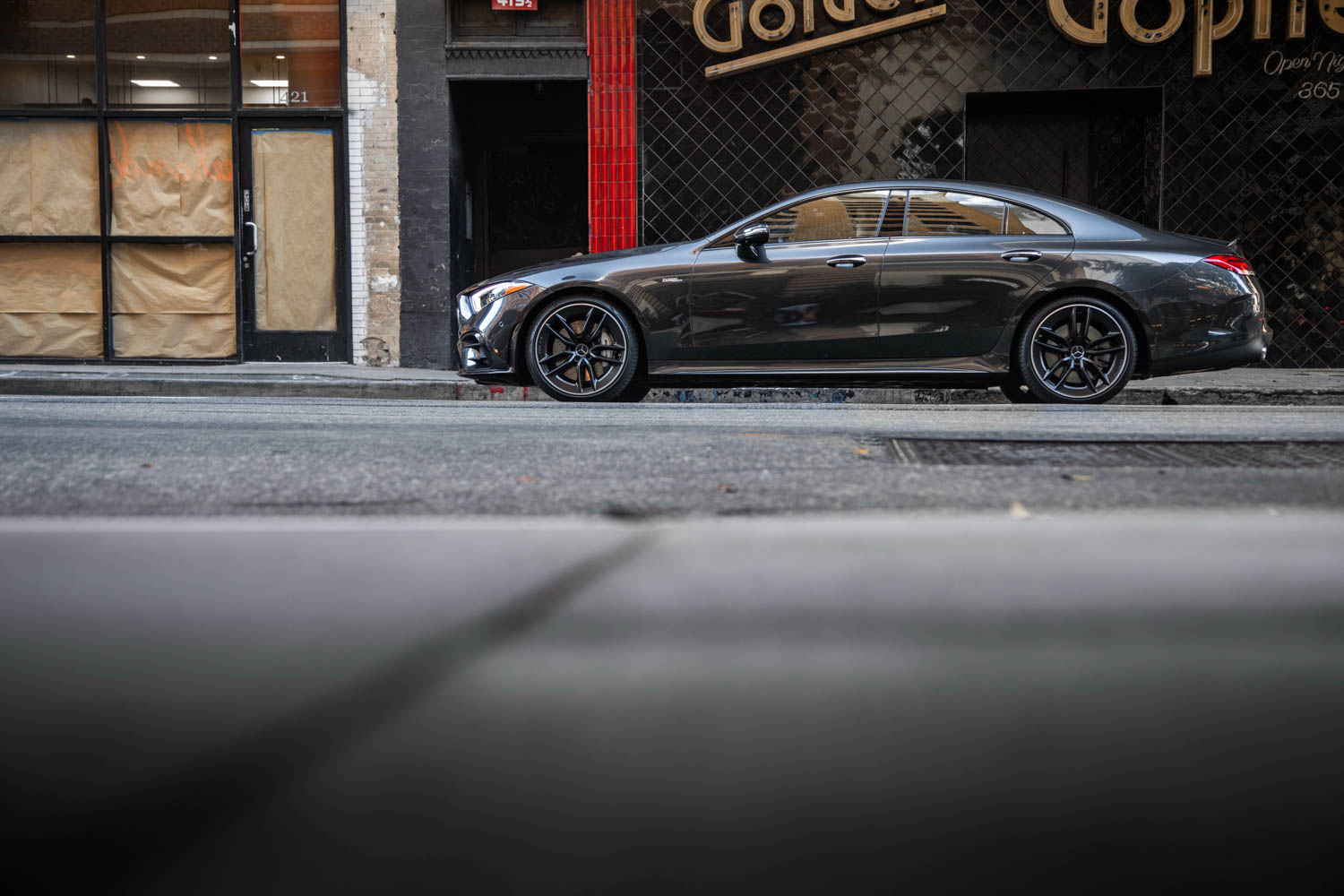 2019 Mercedes-AMG CLS53 on the street