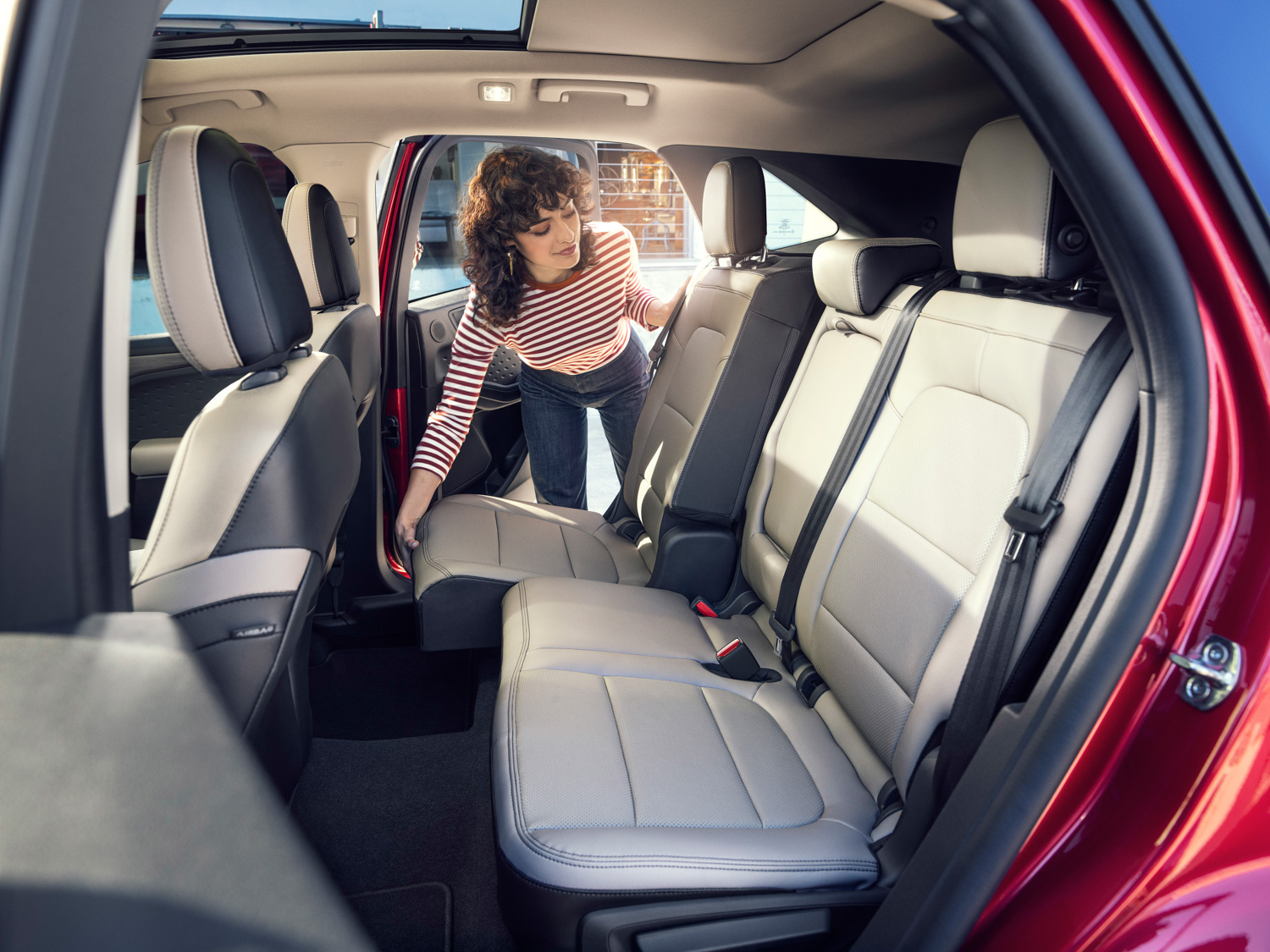 2020 Ford Escape rear seats