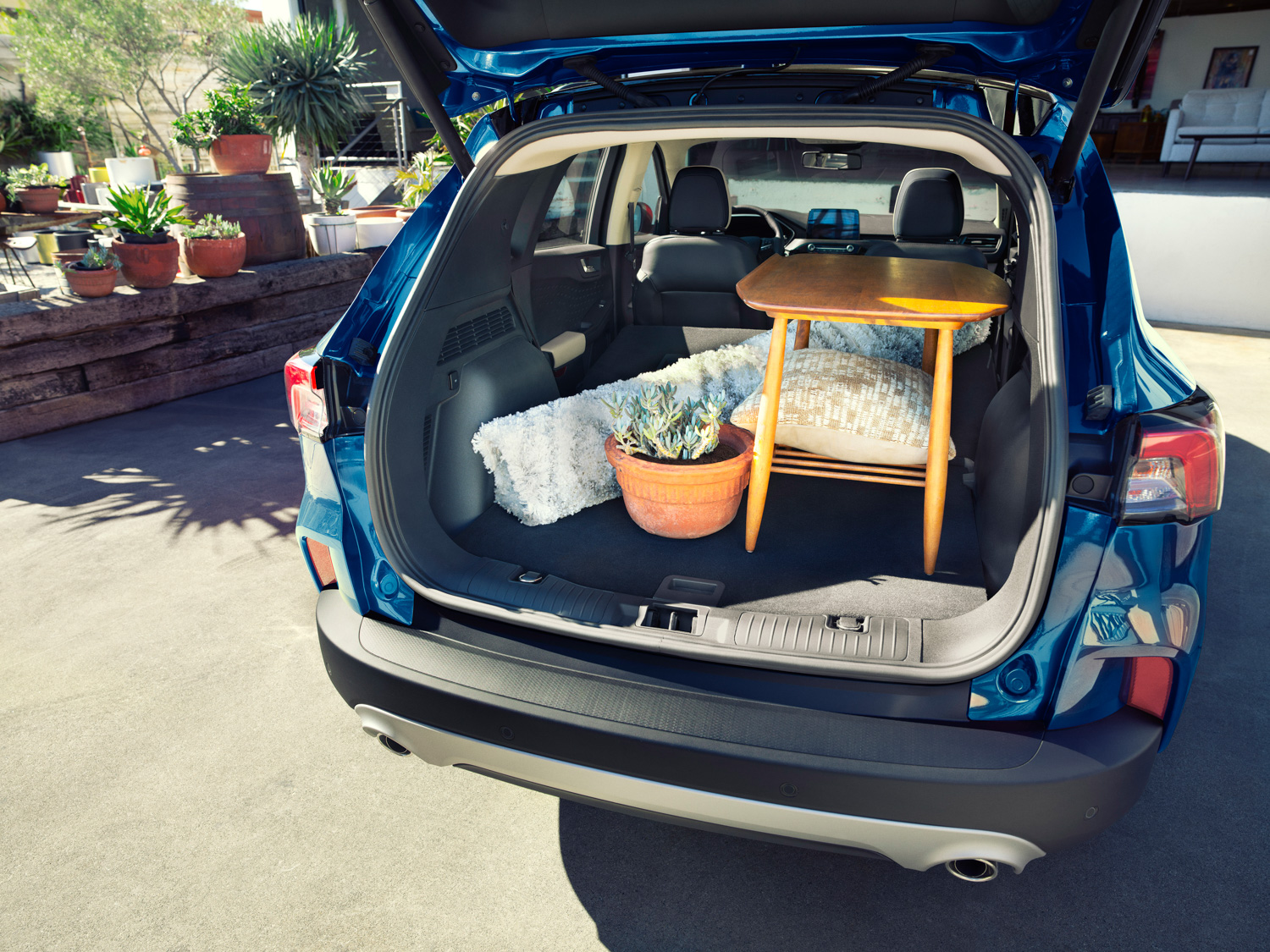2020 Ford Escape cargo space