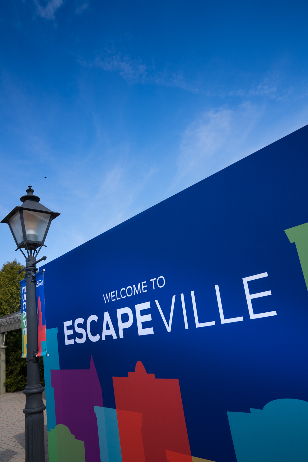 2020 Ford Escape escapeville sign