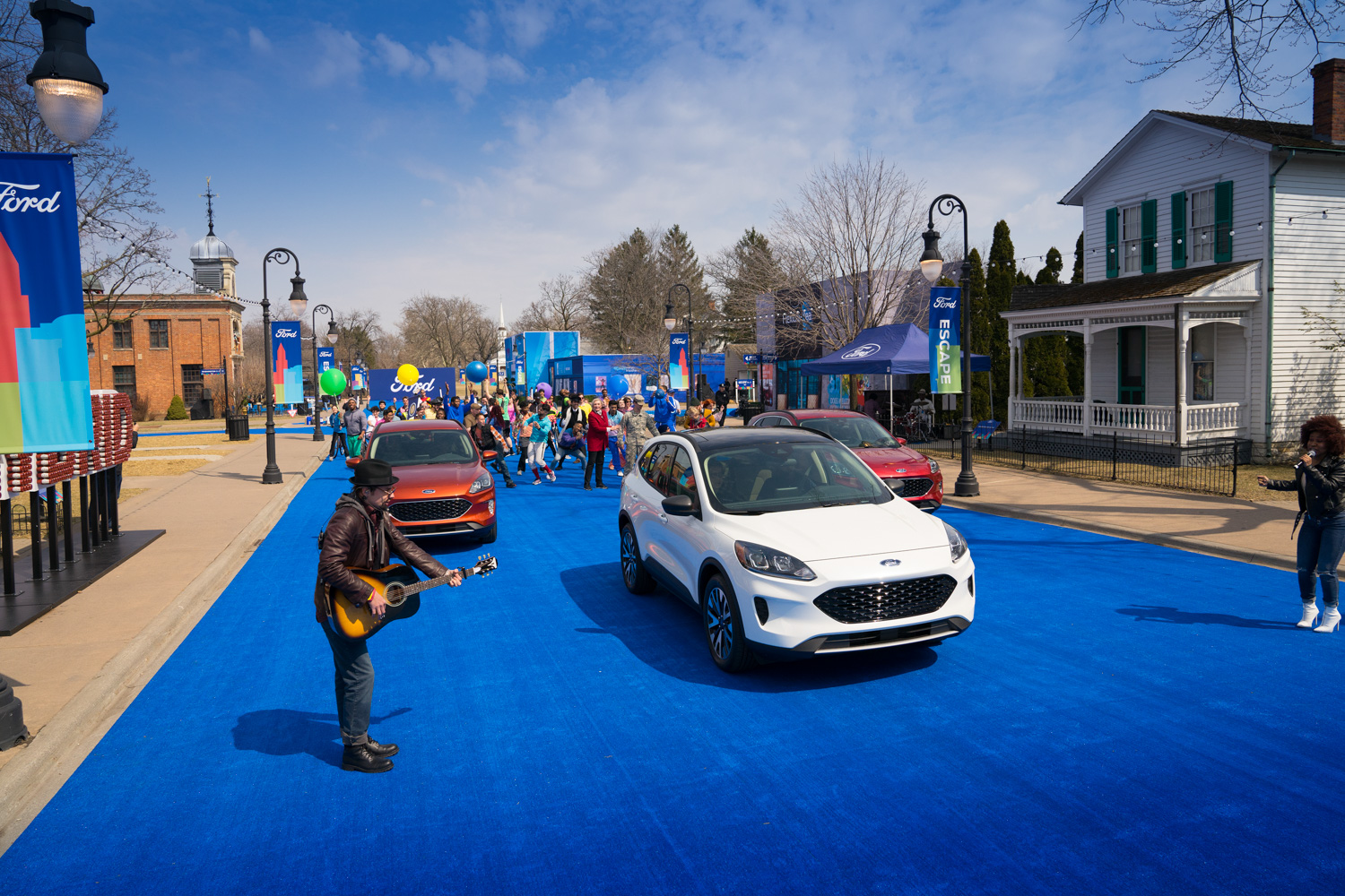 2020 Ford Escape escapeville parade