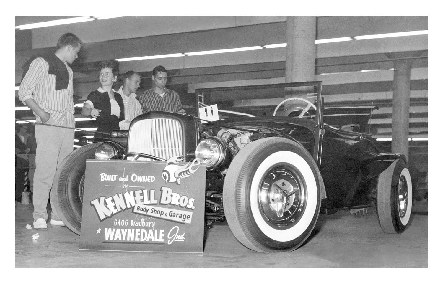Kennell Bros. Hot rod