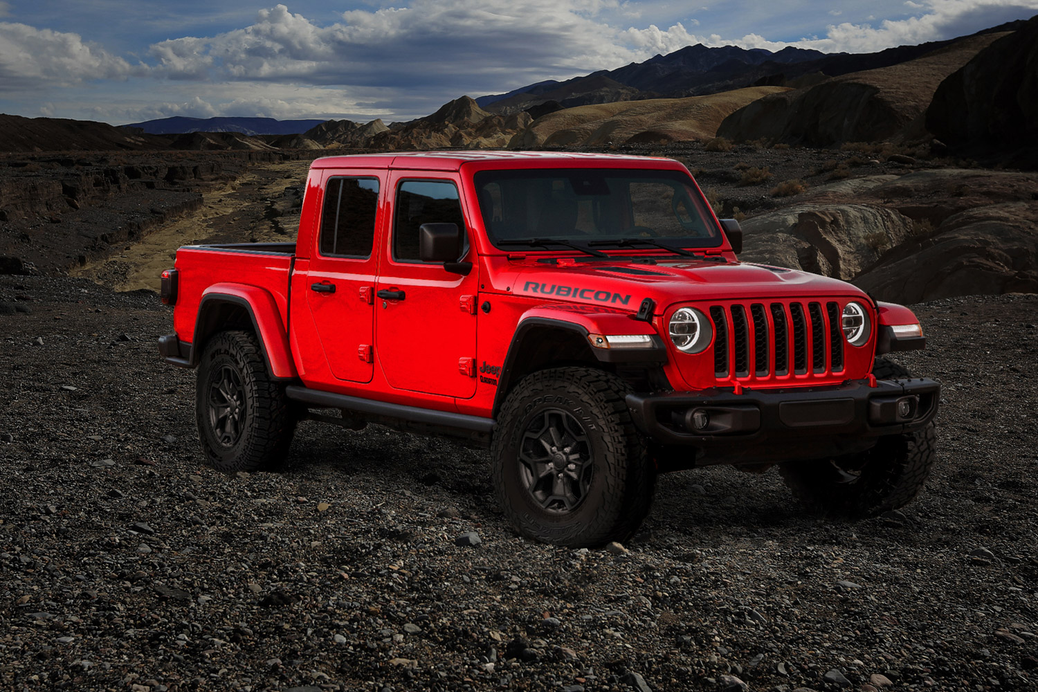 2020 Jeep Gladiator Launch Edition 3/4 front