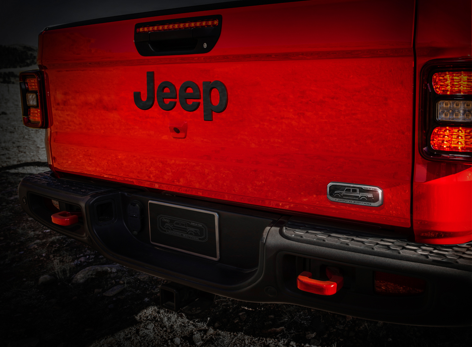 2020 Jeep Gladiator Launch Edition tailgate