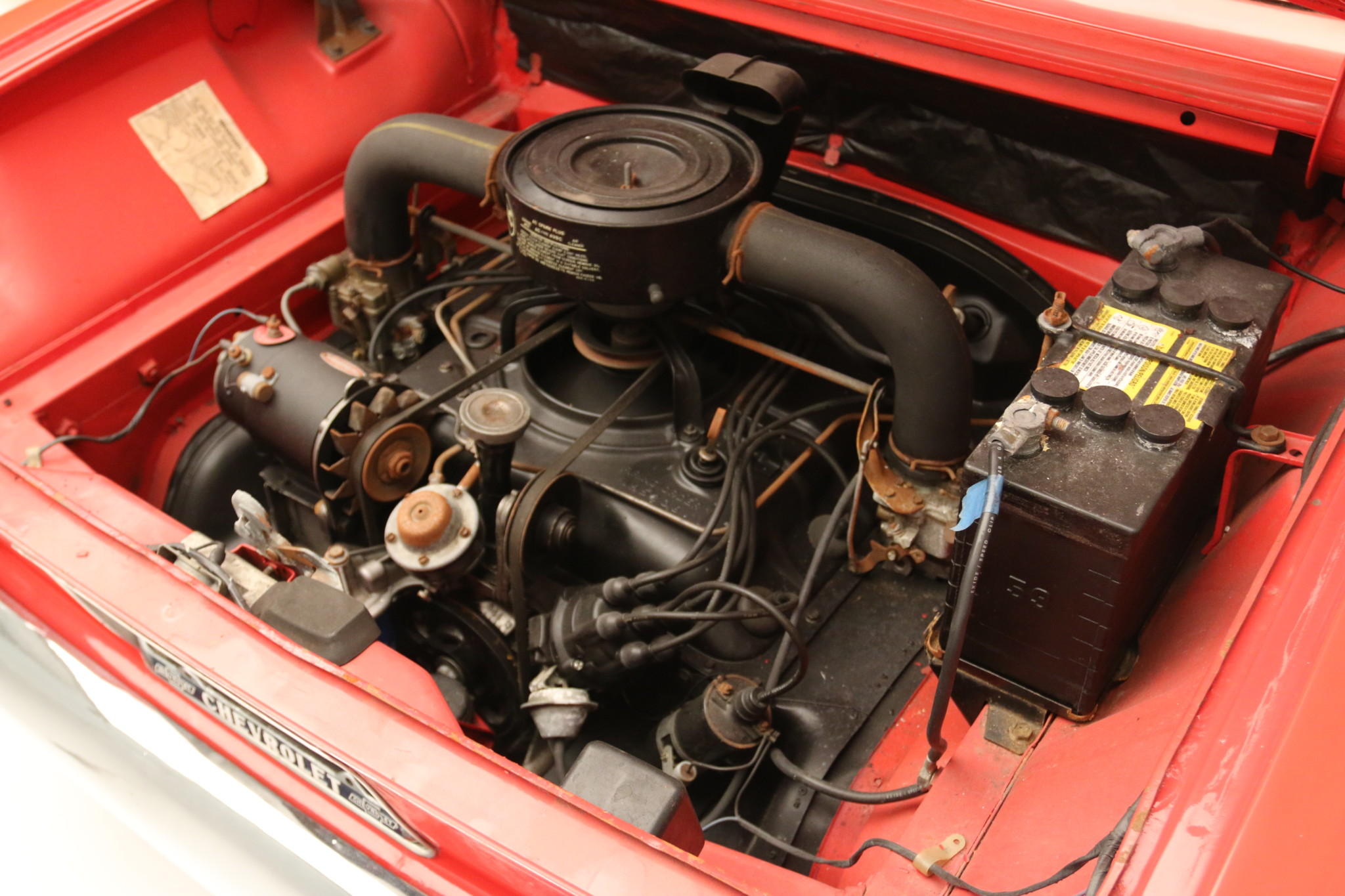 1960 Chevrolet Corvair 700 engine
