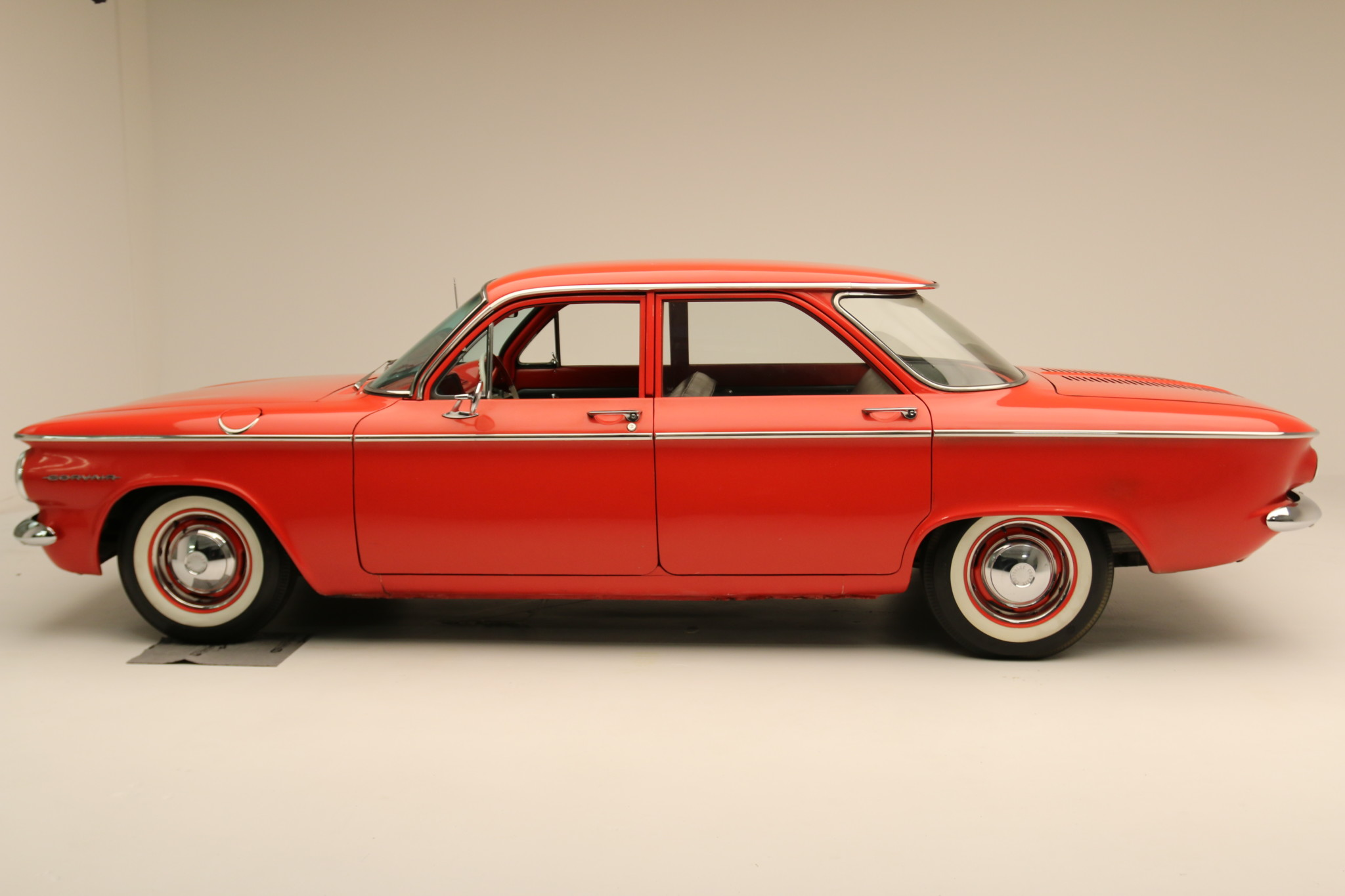 1960 Chevrolet Corvair 700side view