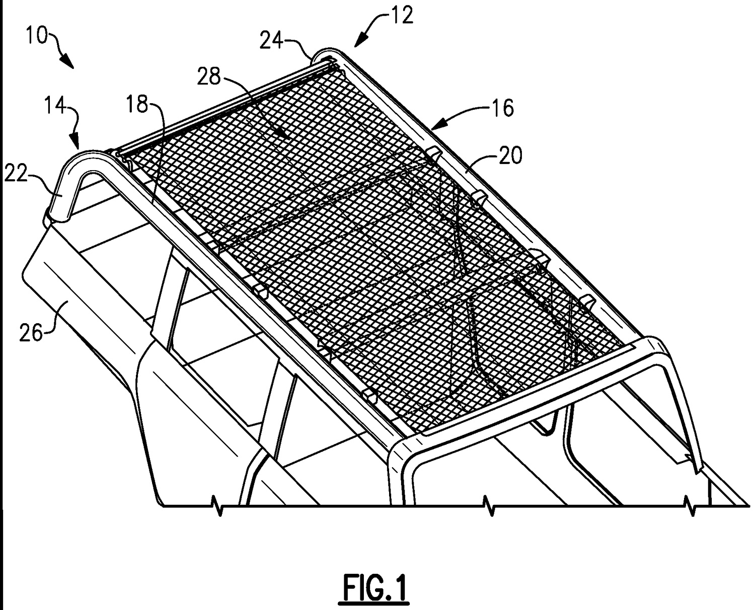 Ford Bronco soft top patent