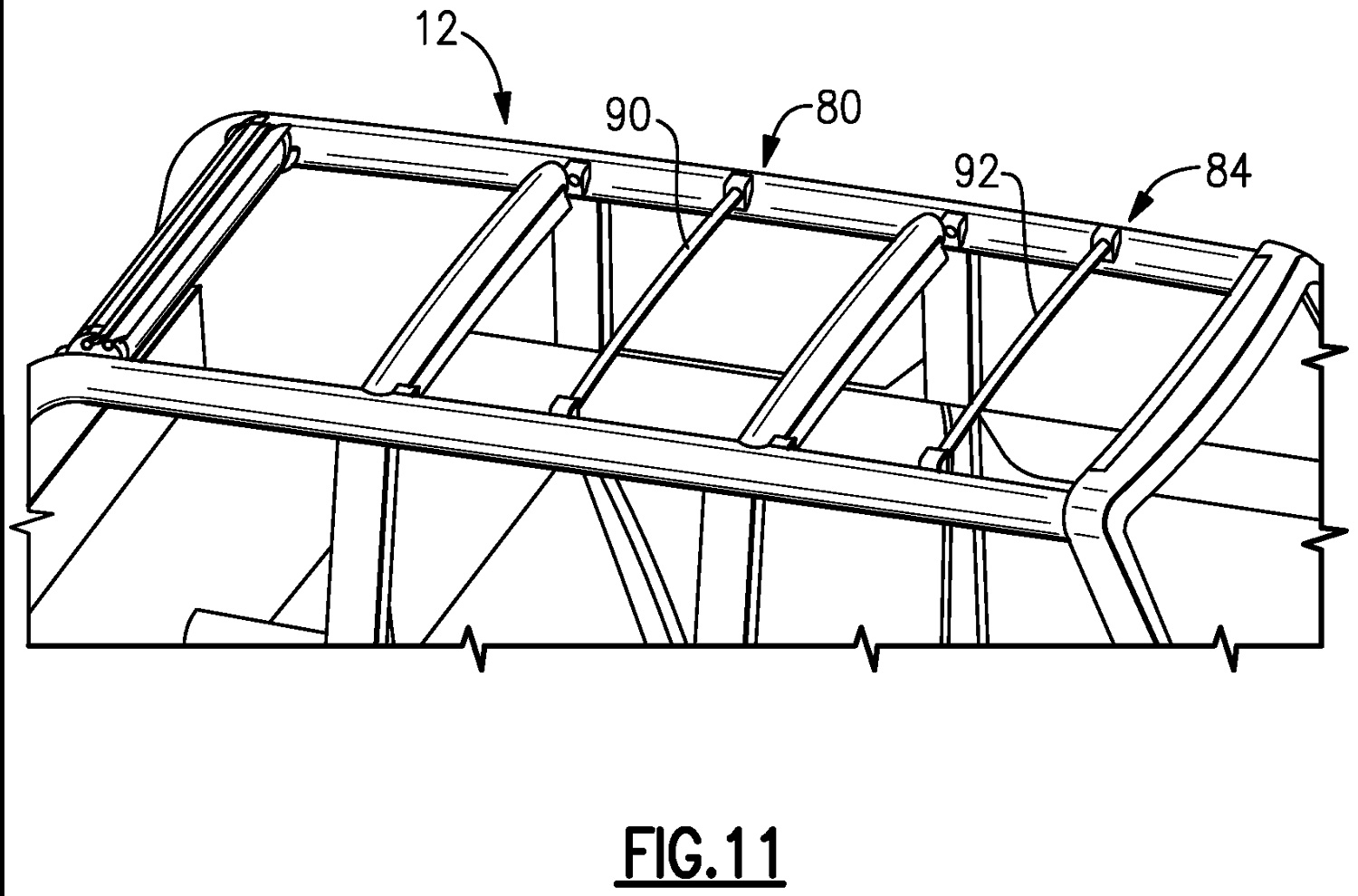 Ford Patents soft top roof