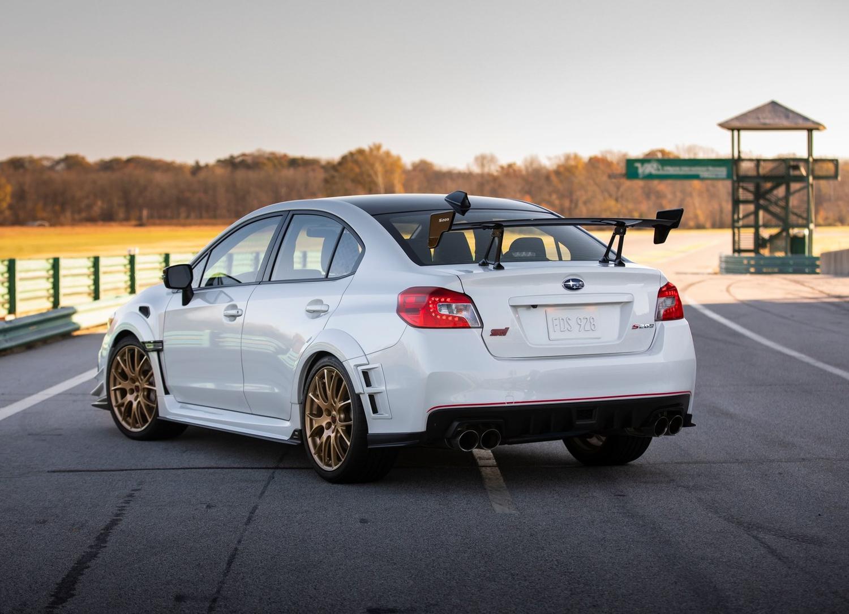 2019 Subaru WRX STI S209 drive select