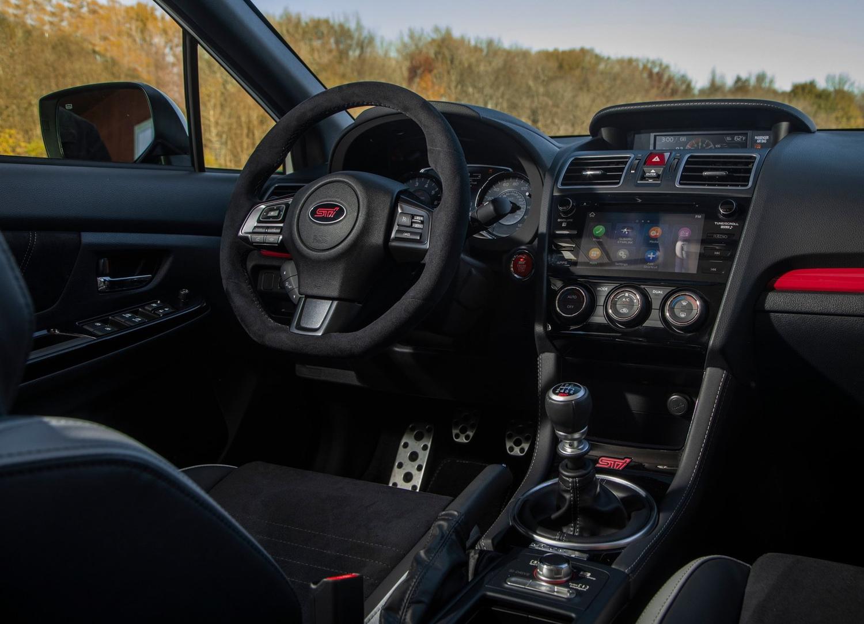 2019 Subaru WRX STI S209 engine