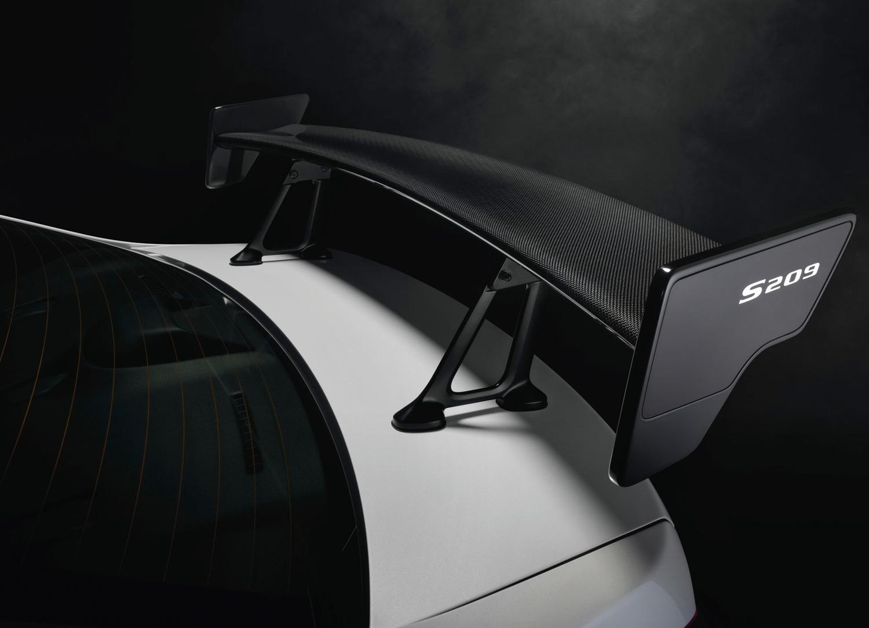 2019 Subaru WRX STI S209 steering wheel