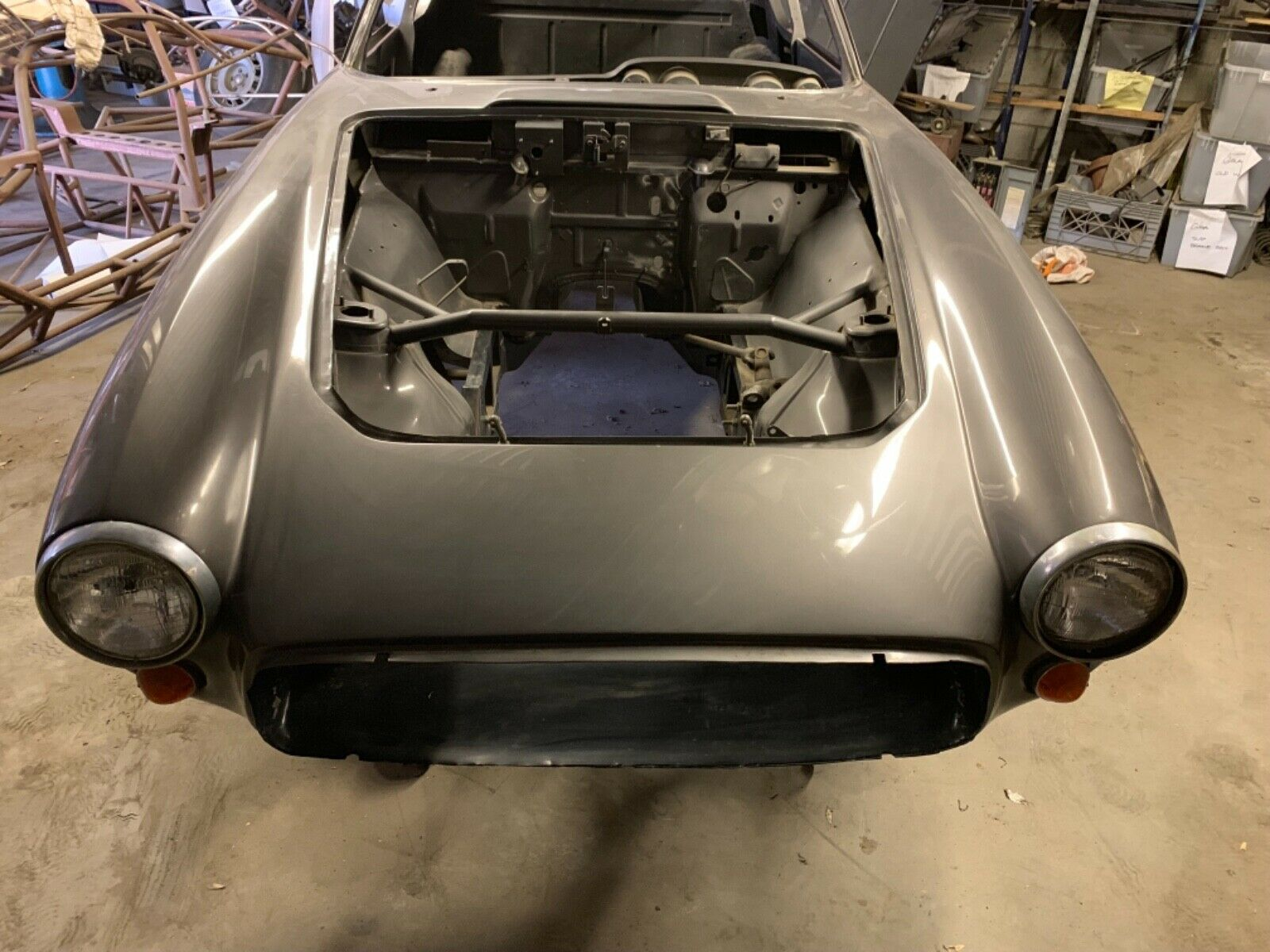 project 1966 Ghia 1500 gt nose