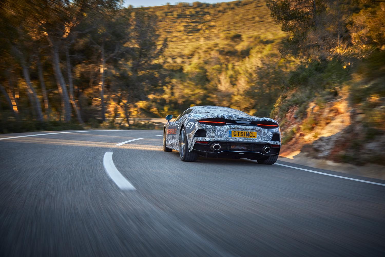 McLaren of Grand Tourers rear 3/4