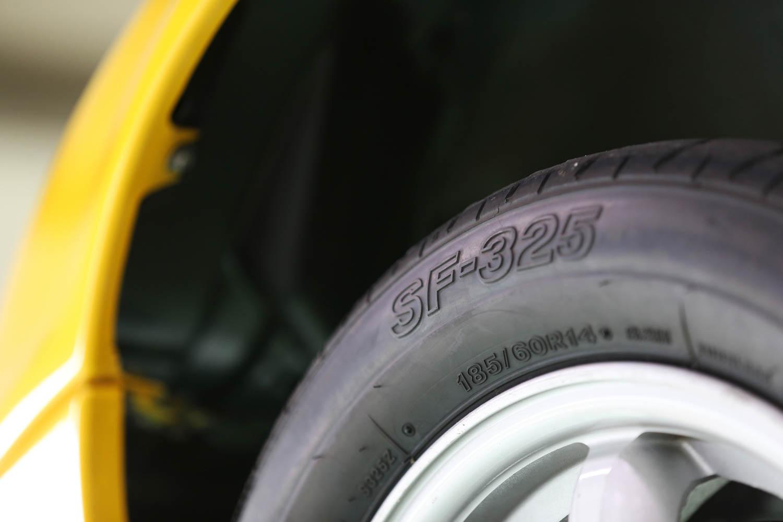 Bridgestone SF325 detail