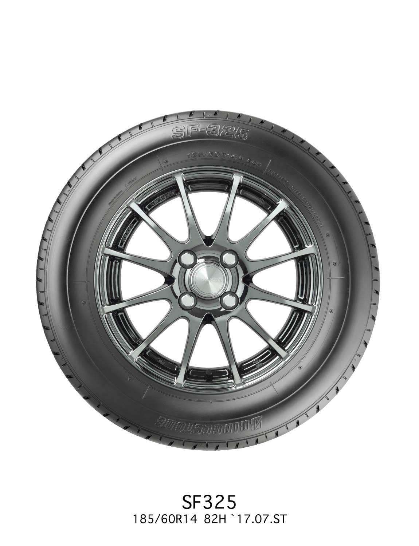 Bridgestone SF325 side profile