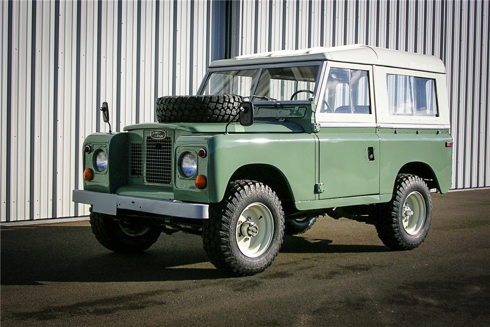Values for the 1959–71 Land Rover Series II/Series IIA keep climbing thumbnail