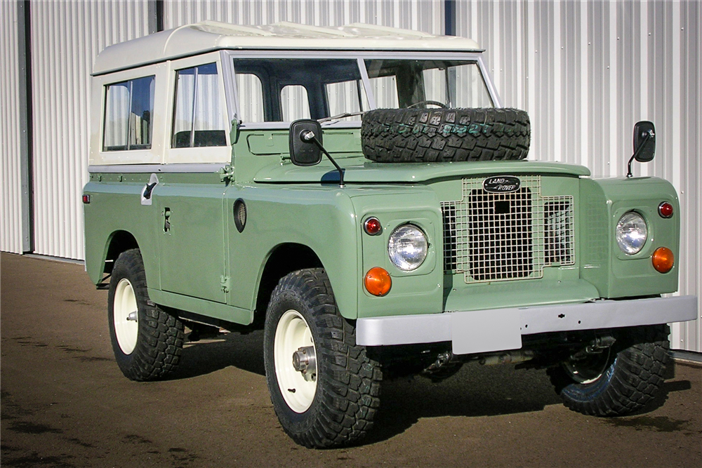 1971 Land Rover Series IIA 3/4 front driver