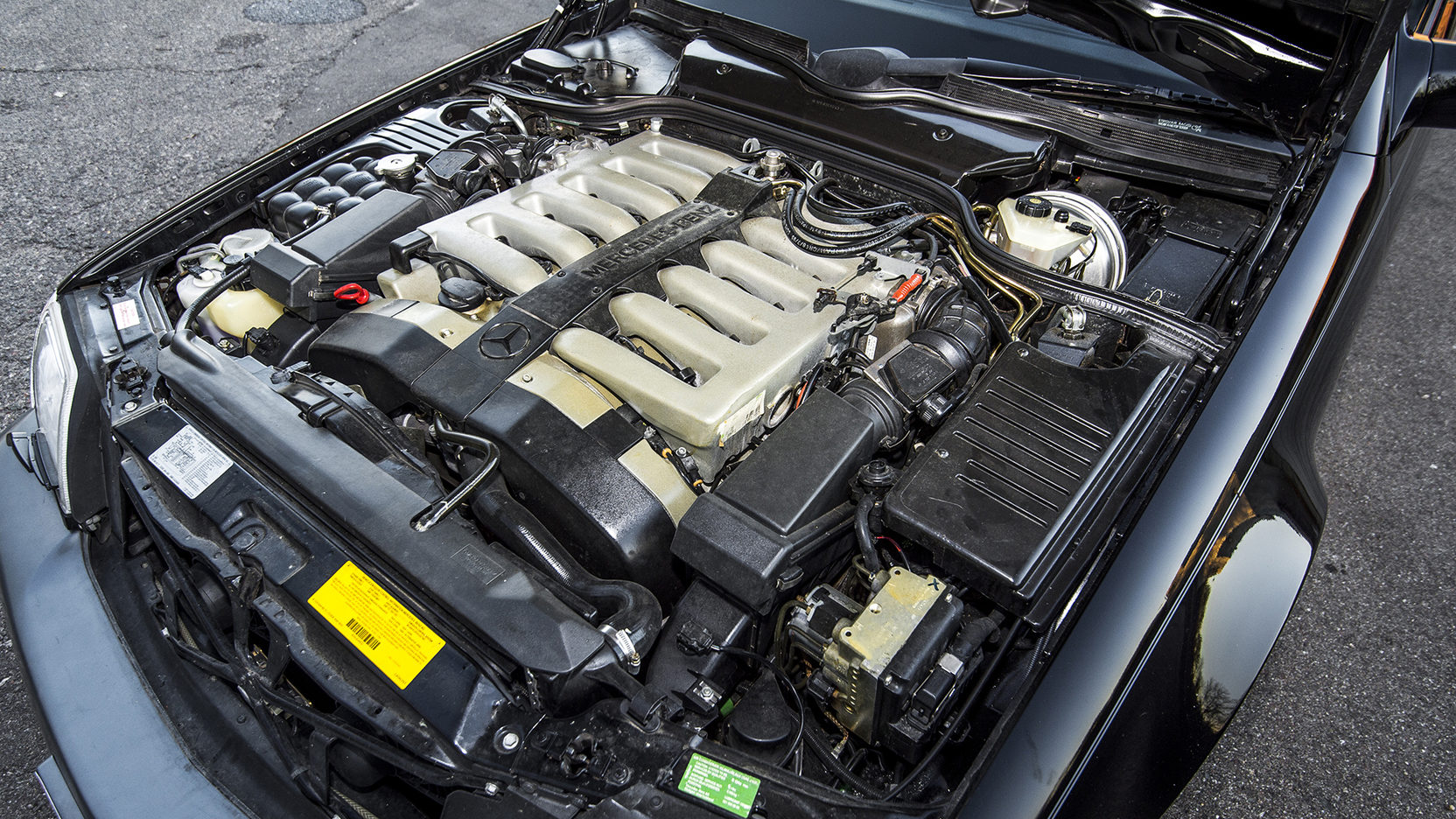 1995 Mercedes-Benz SL 600 engine