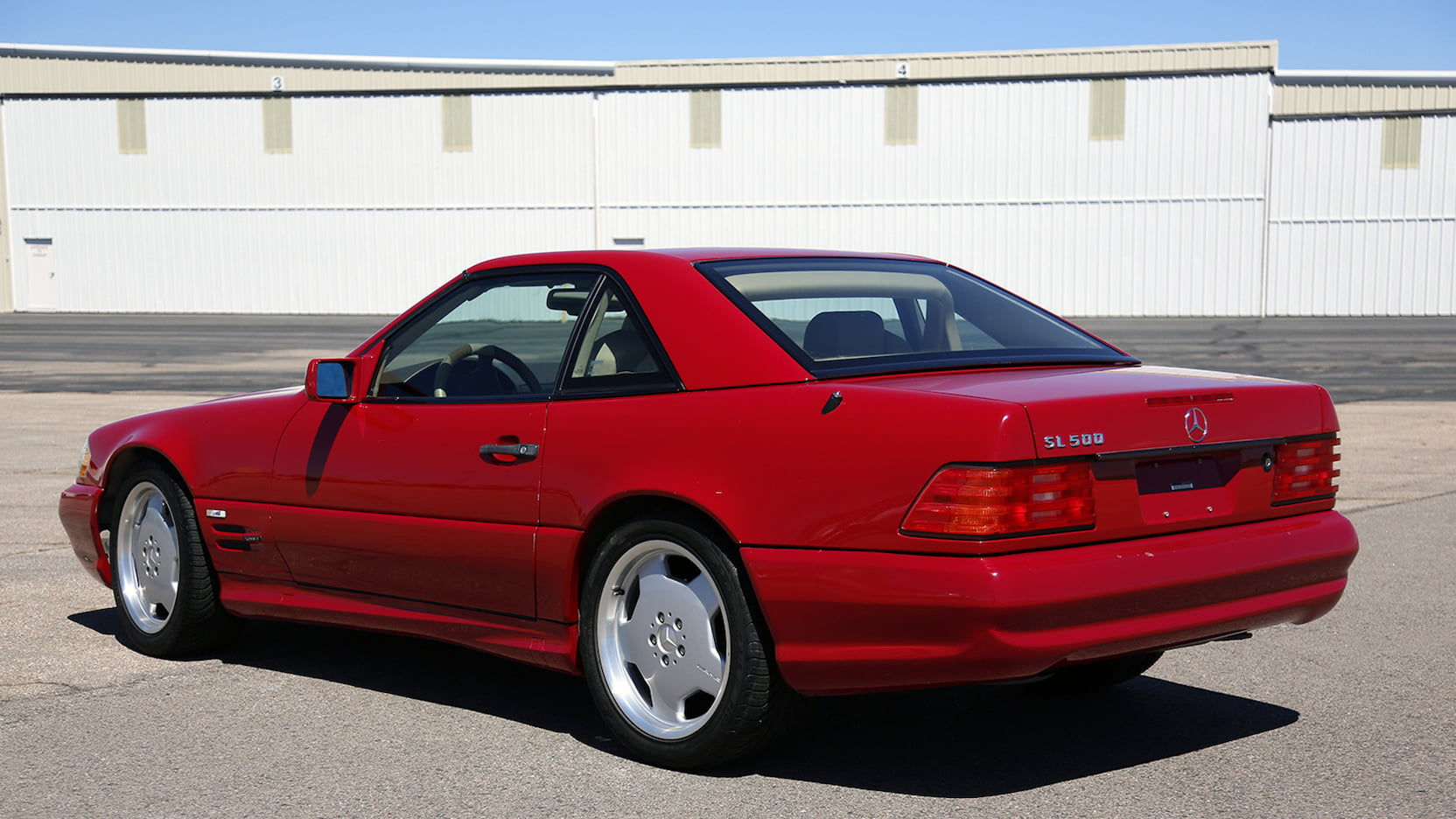 1996 Mercedes-Benz SL 500 rear 3/4
