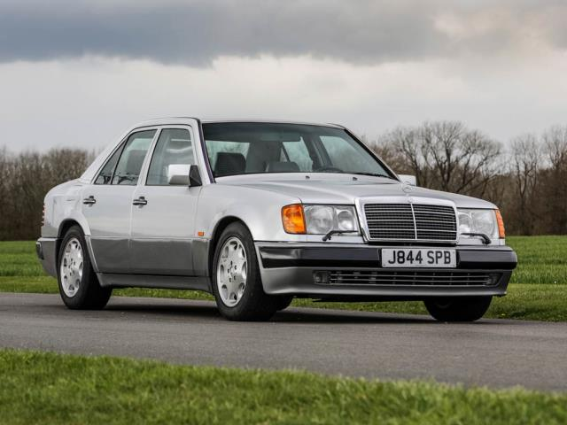 This 1995 Mercedes-Benz E320 Cabriolet is one of the last of