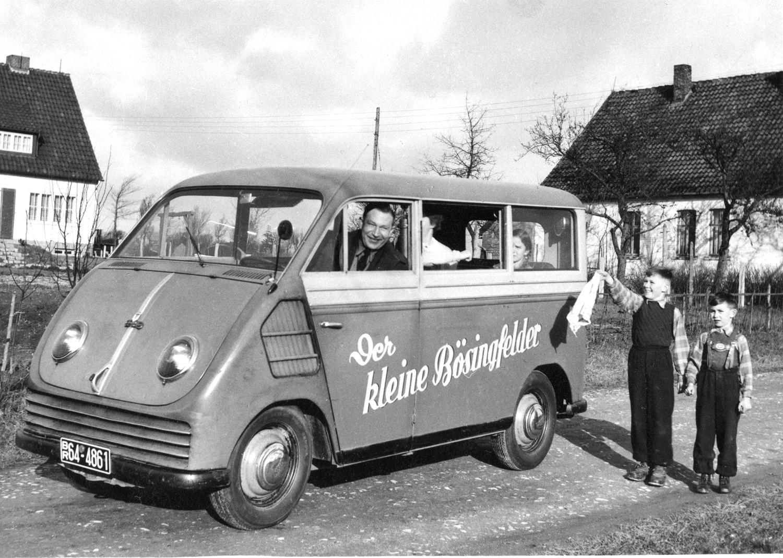 photo of classic Audi van