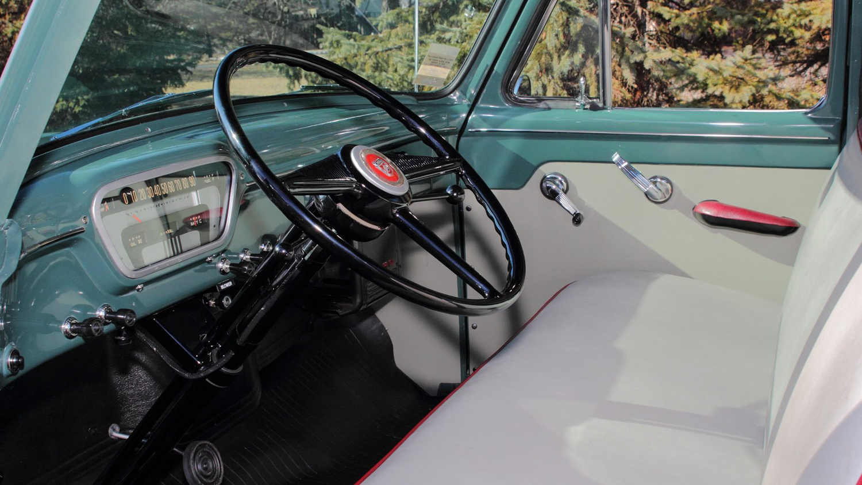 1953 Ford F100 interior driver