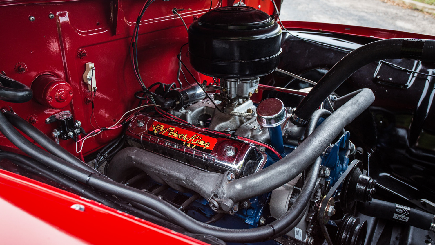 1955 Ford F100 power king y block v8