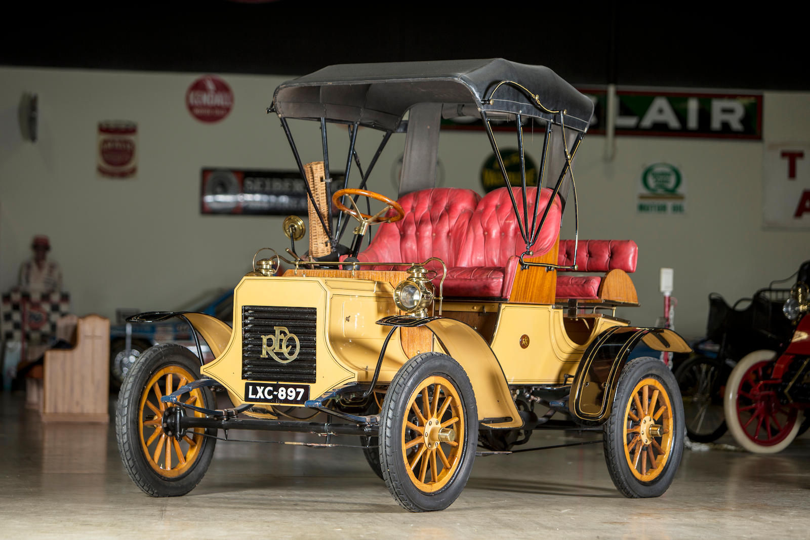 1905 REO Single Cylinder Runabout