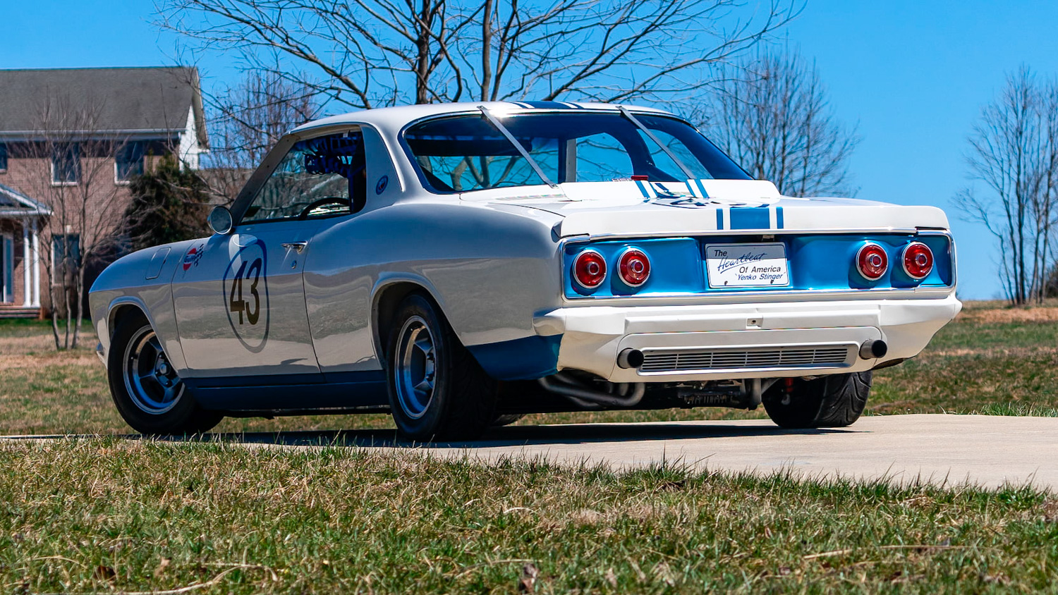 1966 Chevrolet Corvair Yenko Stinger 3/4 rear