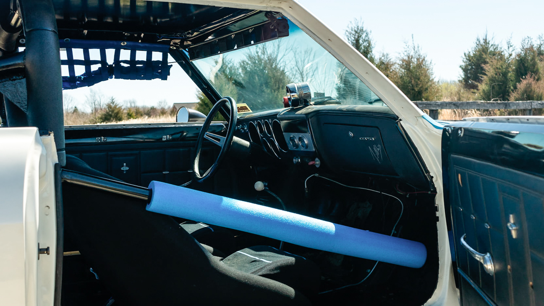 1966 Chevrolet Corvair Yenko Stinger passenger interior