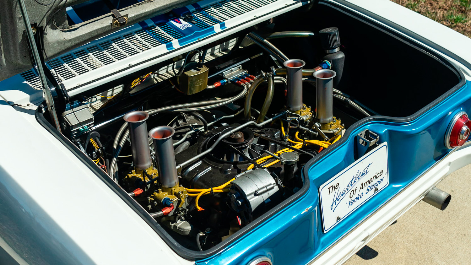 1966 Chevrolet Corvair Yenko Stinger engine