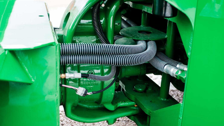 1961 John Deere 8020 hoses