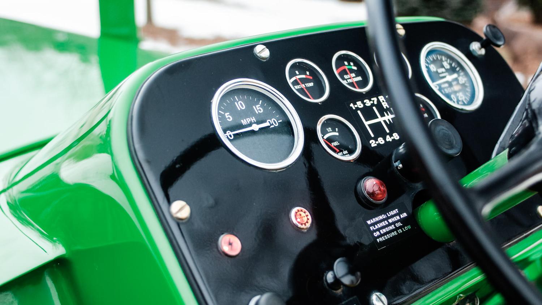 1961 John Deere 8020 gauges